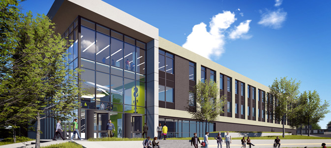 An artists impression of the stemlab building